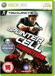 Диск Tom Clancy's Splinter Cell: Conviction [X360]