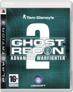 Диск Tom Clancy's Ghost Recon: Advanced Warfighter 2 [PS3]