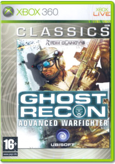 Диск Tom Clancy's Ghost Recon: Advanced Warfighter (Б/У) [X360]