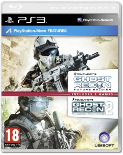 Диск Tom Clancy's Ghost Recon: Future Soldier + Advanced Warfighter 2 [PS3]