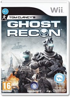Диск Tom Clancy's Ghost Recon [Wii]