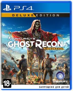 Диск Tom Clancy's Ghost Recon Wildlands - Deluxe Edition [PS4]