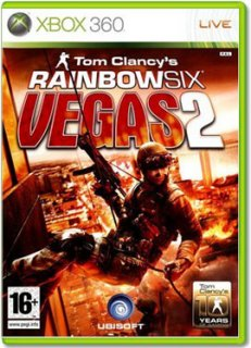 Диск Tom Clancy's Rainbow Six Vegas 2 (Б/У) [X360]