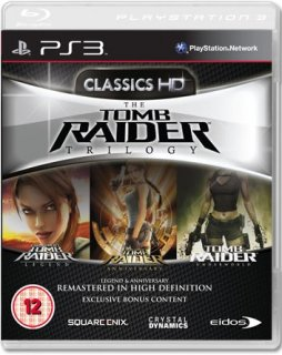 Диск Tomb Raider Trilogy - Classics HD [PS3]