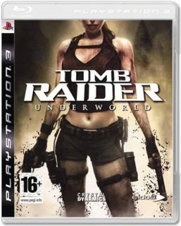 Диск Tomb Raider: Underworld (Б/У) [PS3]