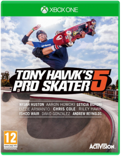 Диск Tony Hawk's Pro Skater 5 [Xbox One]