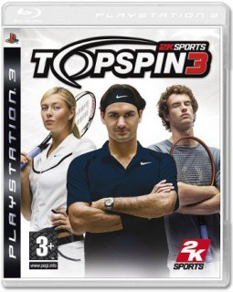 Диск Top Spin 3 [PS3]