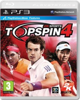 Диск Top Spin 4 [PS3, PS Move]