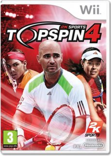 Диск Top Spin 4 [Wii]