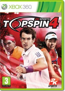 Диск Top Spin 4 [X360]