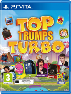 Диск Top Trumps Turbo (Б/У) [PS Vita]