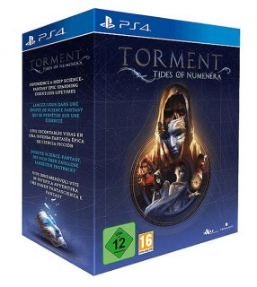 Диск Torment: Tides of Numenera Collector's Edition [PS4]