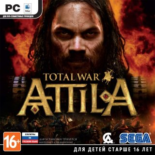 Диск Total War: ATTILA [PC, Jewel]