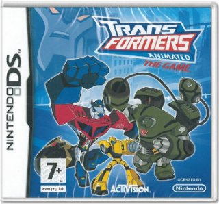 Диск Transformers Animated The Game (Б/У) [DS]