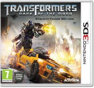 Диск Transformers: Dark of the Moon [3DS]