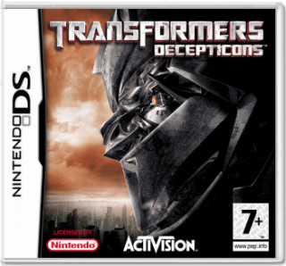Диск Transformers: Decepticons [DS]