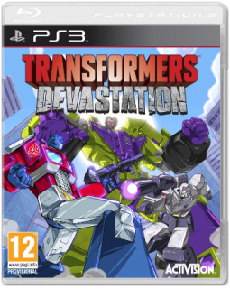 Диск Transformers: Devastation [PS3]