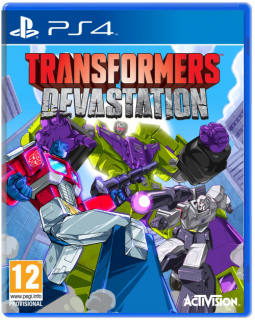 Диск Transformers: Devastation (Б/У) [PS4]