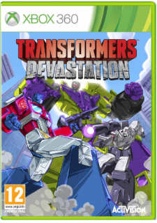 Диск Transformers: Devastation [X360]