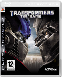 Диск Transformers: The Game (Б/У) [PS3]