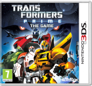 Диск Transformers Prime [3DS]