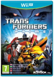 Диск Transformers: Prime – The Game (Б/У) [Wii U]