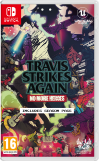Диск Travis Strikes Again: No More Heroes [NSwitch]
