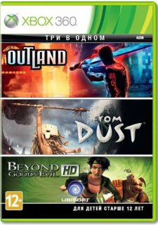 Диск Tri Pack (BGE/Outland/From Dust) [X360]