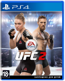 Диск UFC 2 (EA Ultimate Fighting Championship 2) [PS4] Хиты PlayStation
