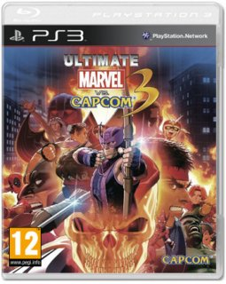 Диск Ultimate Marvel vs Capcom 3: Fate of Two Worlds (Б/У) [PS3]