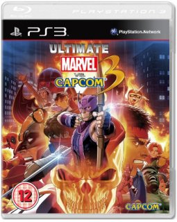 Диск Ultimate Marvel vs. Capcom 3 (Б/У) [PS3]