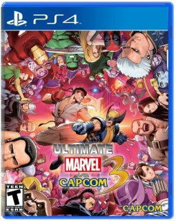 Диск Ultimate Marvel vs. Capcom 3 [PS4]