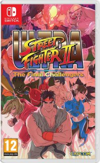 Диск Ultra Street Fighter II: The Final Challengers (Б/У) [NSwitch]