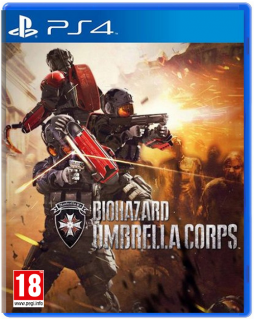 Диск Resident Evil (Biohazard) Umbrella Corps [PS4]