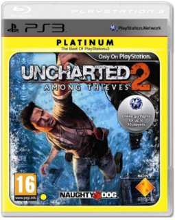 Диск Uncharted 2: Among Thieves [Platinum] (Б/У) [PS3]