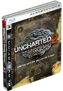 Диск Uncharted 2: Among Thieves + Steelbook (Б/У) [PS3]