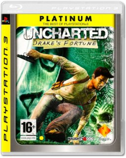 Диск Uncharted: Drake's Fortune [Platinum] (Б/У) [PS3]
