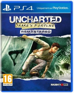 Диск Uncharted: Drake's Fortune (Б/У) [PS4]