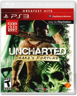 Диск Uncharted: Drake's Fortune (US) (Б/У) [PS3]