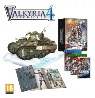 Диск Valkyria Chronicles 4 Collector's Edition [Xbox One]