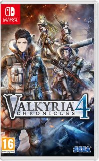 Диск Valkyria Chronicles 4 [NSwitch]