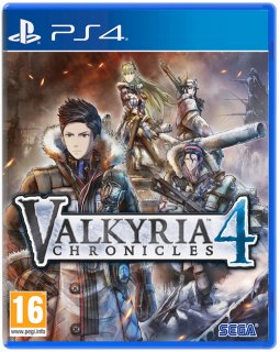 Диск Valkyria Chronicles 4 [PS4]