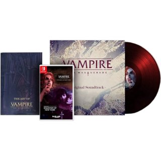 Диск Vampire: The Masquerade - Coteries of New York + Shadows of New York - Collectors Edition [NSwitch]