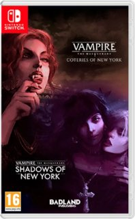 Диск Vampire: The Masquerade - Coteries of New York + Shadows of New York [NSwitch]