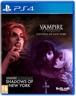 Диск Vampire: The Masquerade - Coteries of New York + Shadows of New York [PS4]