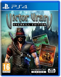Диск Victor Vran - Overkill Edition (Б/У) [PS4]
