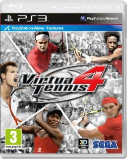 Диск Virtua Tennis 4 (Б/У) [PS3]