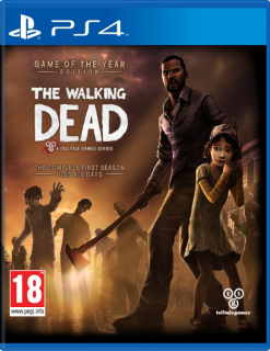 Диск Walking Dead Season 1 - Game of the Year[PS4]