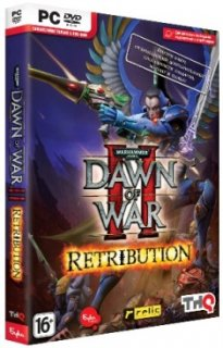 Диск Warhammer 40000: Dawn of War II - Retribution. Эльдары. [PC, DVD-Box]