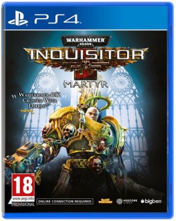 Диск Warhammer 40,000: Inquisitor - Martyr Day 1 Edition [PS4]